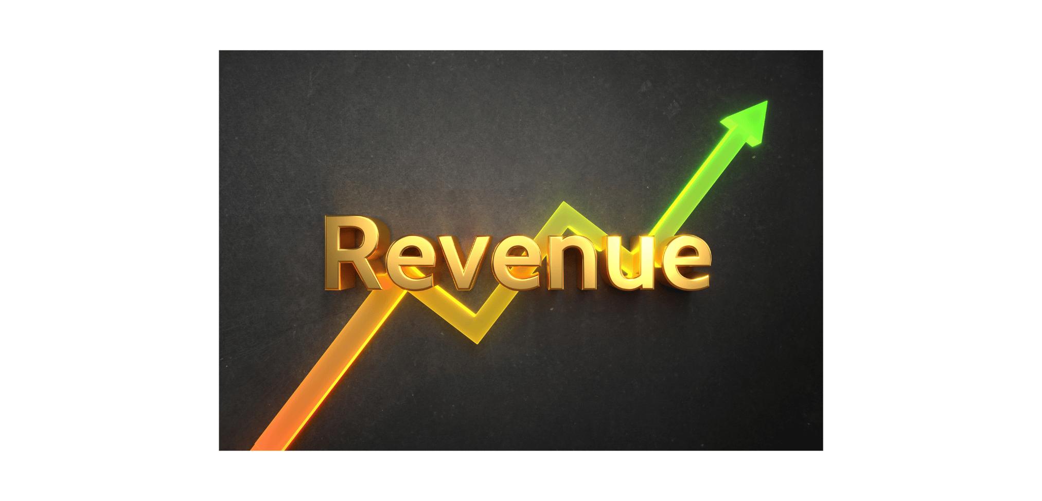Revenue arrow